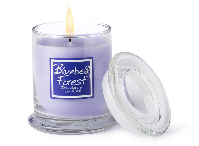 Bluebell Forest Candle Jar