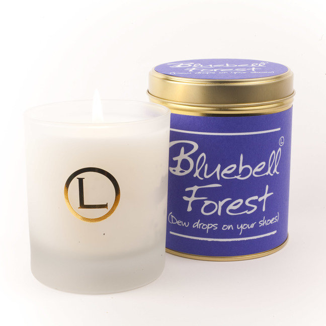 Bluebell Forest Glassware Candle