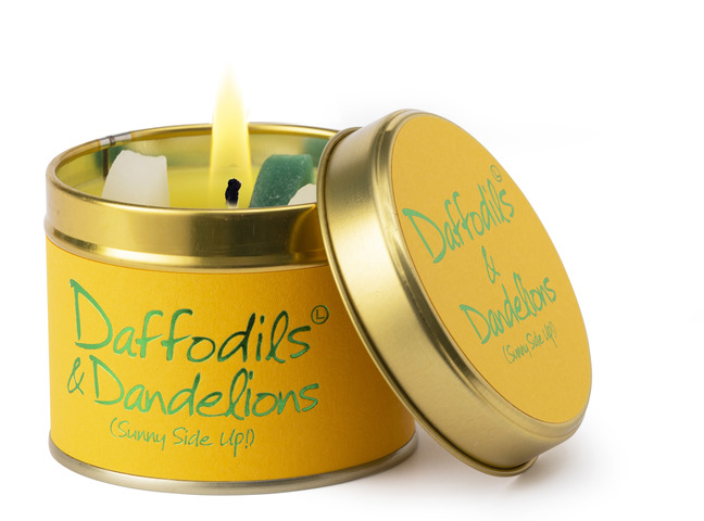Daffodils & Dandelions Scented Candle