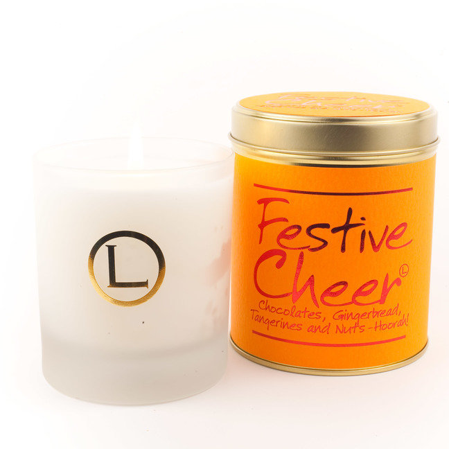 Festive Cheer Glassware Candle