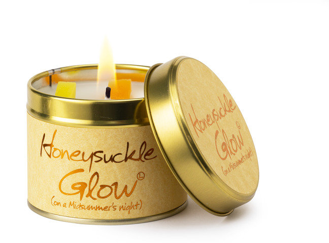 Honeysuckle Glow Scented Tin
