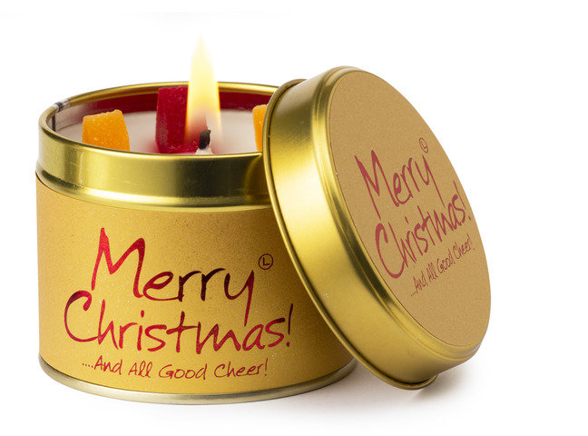 Merry Christmas Scented Candle