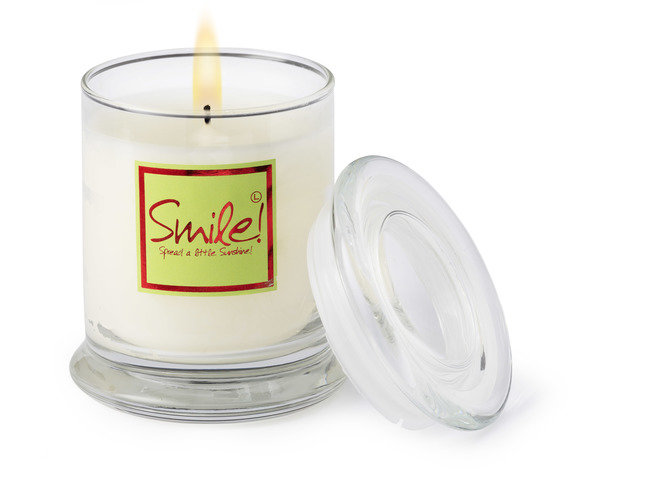 Smile! Candle Jar
