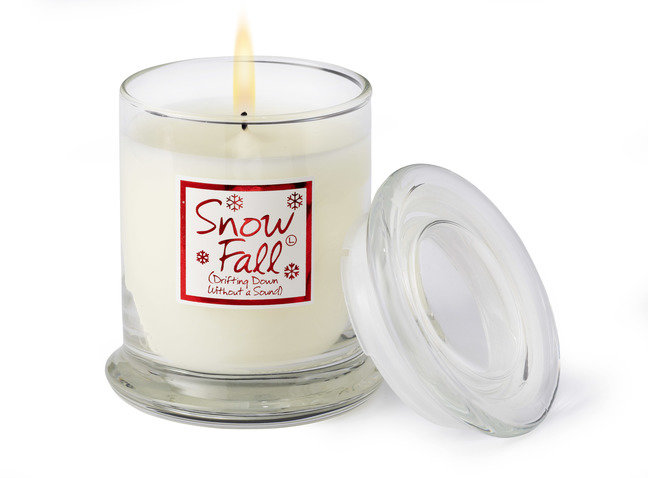 Snow Fall Candle Jar