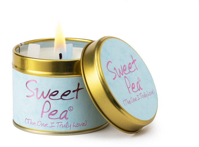 Sweetpea Scented Candle