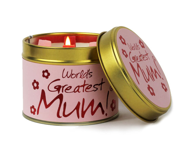 World's Greatest Mum! Scented Candle