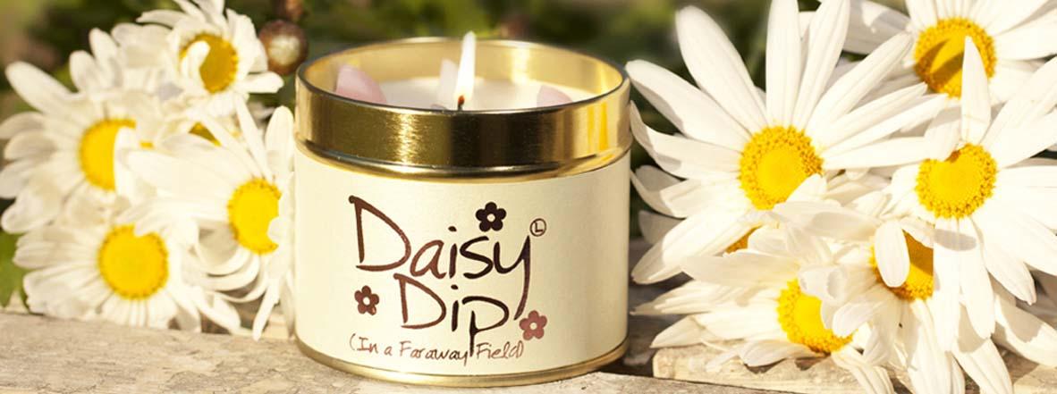Daisy Dip Candle